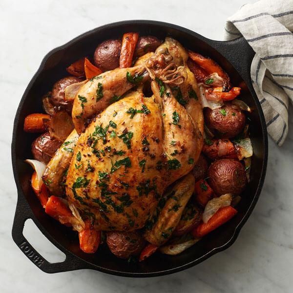 Herb Butter Roasted Chicken Recipe Land O Lakes