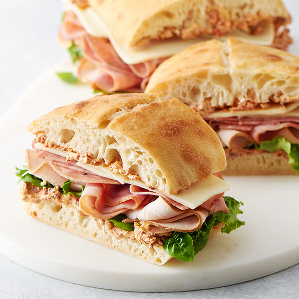 Italian Picnic Sandwiches Recipe Land O Lakes