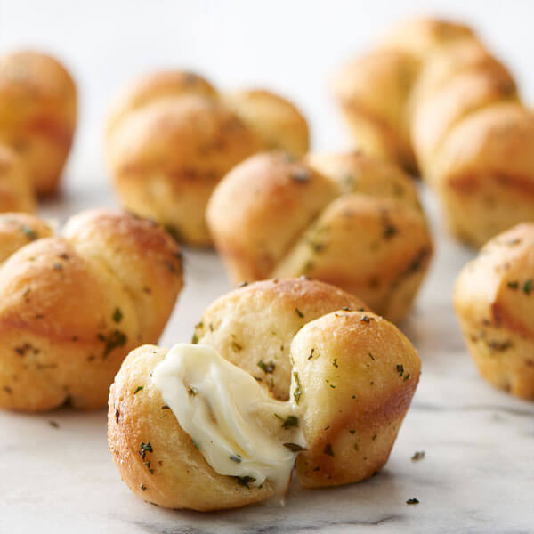 Quick Cloverleaf Herb Rolls Recipe Land O Lakes