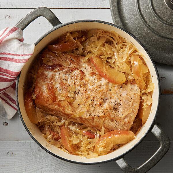 Pork And Sauerkraut Recipe Land O Lakes