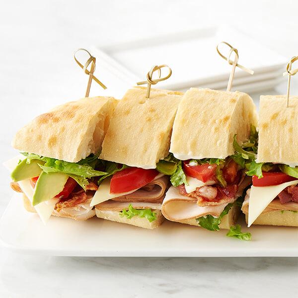 Turkey Cobb Salad Sandwich Image