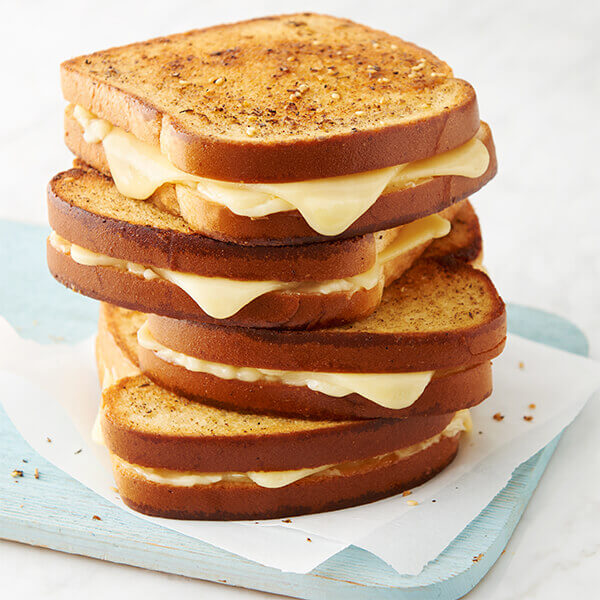 Garlicky Grilled Cheese Sandwich Image