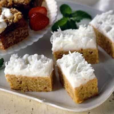 Coconut Cream Bars Image