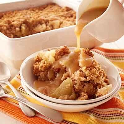Apple Cinnamon Spoon Cake Image