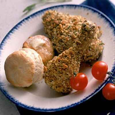 Oven-Fried Herb Chicken Image