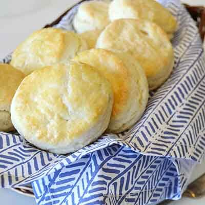 flaky buttermilk biscuits image