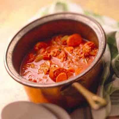 Crock Of Savory Vegetable Stew Image
