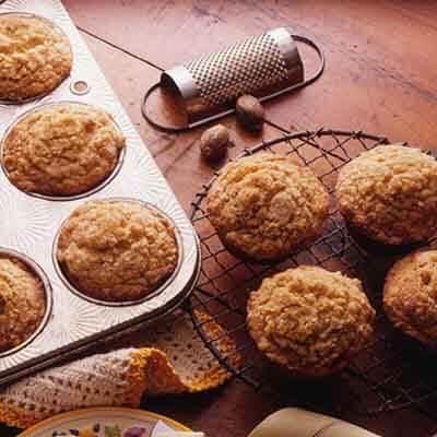 Nutmeg Streusel Muffins Image