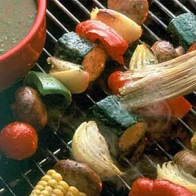 Grilled Garden Kabobs Image