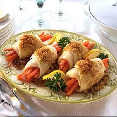 Lemon Sole & Carrot Bundles Image