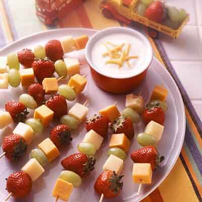 Fruit 'n Cheese Dippers Image