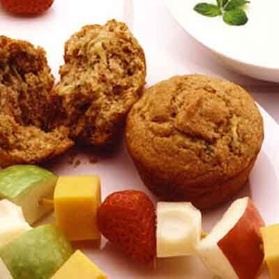 Carrot Zucchini Muffins Image