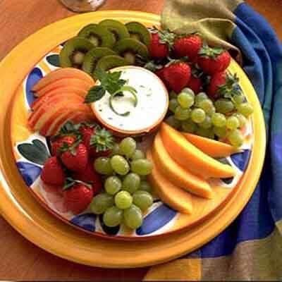 Lime Cream Fruit Dip Image