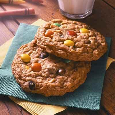 Candy and Nut Cookies Recipe