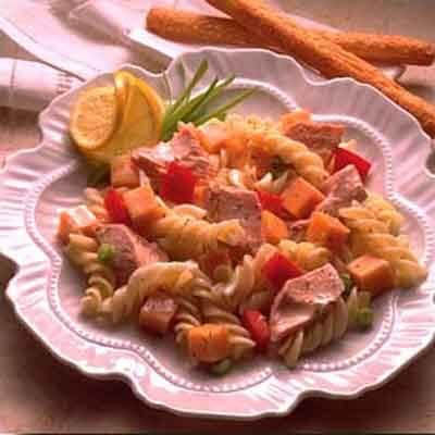 Dill 'n Salmon Pasta  Salad Image