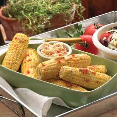 Italian Grilled Corn Image