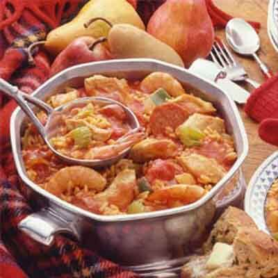 Chicken & Shrimp Jambalaya Image