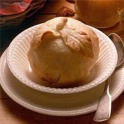 Apple Dumplings & Brandy Sauce Image