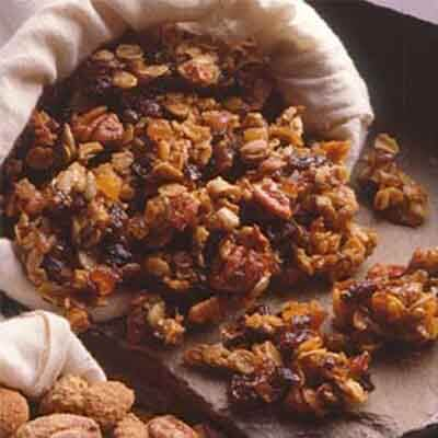 Chewy Maple Oat Clusters Image