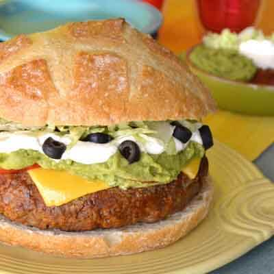 Spicy Jumbo Burger Olé Image