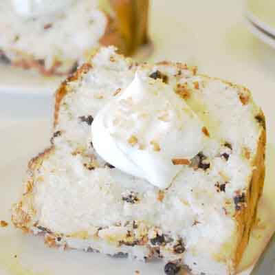 Chocolate Chip Macaroon Angel Food Image