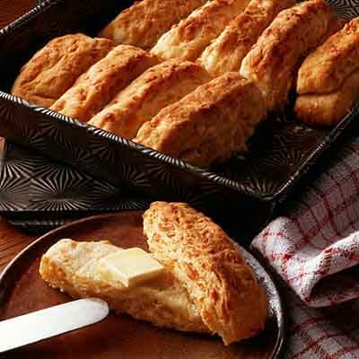 Cheddar Pan Biscuits Image