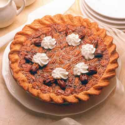 Chocolate-Laced Pecan Pie Image