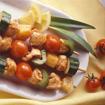 Teriyaki Chicken Kabobs Image