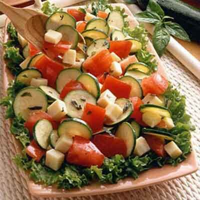 Fresh Herb Tomato-Jack Salad Image