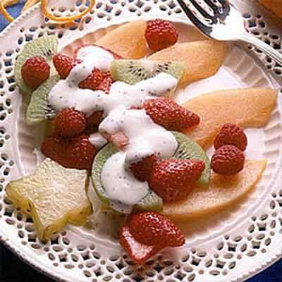 Orange Poppy Seed Fruit Salad Image