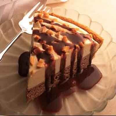 Choco-Peanut Butter Ice Cream Pie Image
