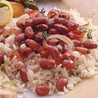 Spicy Red Beans Over Rice Image