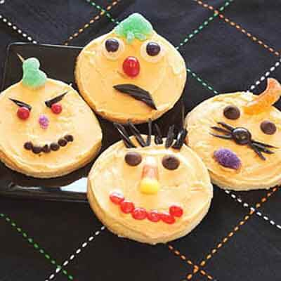 Pumpkin Cut-Out Halloween Cookies Recipe