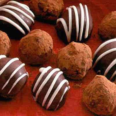 French Christmas Truffles Image