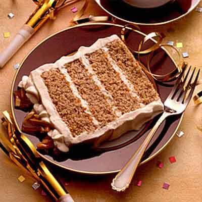 Eggnog Praline Torte Image