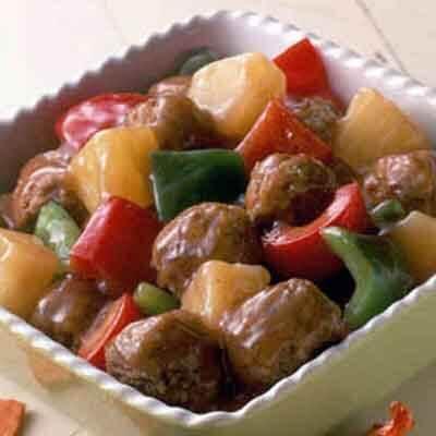 Sweet & Sour Meatballs Image