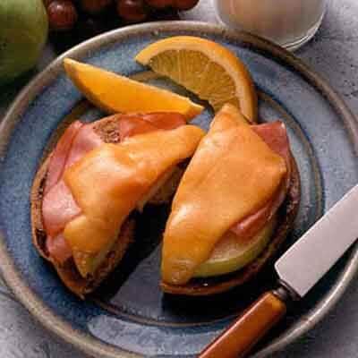 Ham 'n Apple Bagels Image