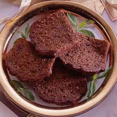Glazed Chocolate Mini Loaves Image