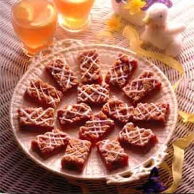 Almond Strawberry Bars Image