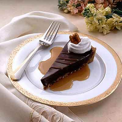 Chocolate Caramel Truffle Torte Image