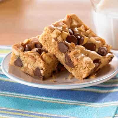 Peanut Chocolate Swirl Bars Image