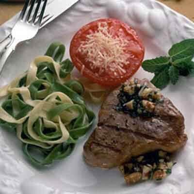 Mint Pesto Lamb Chops Image