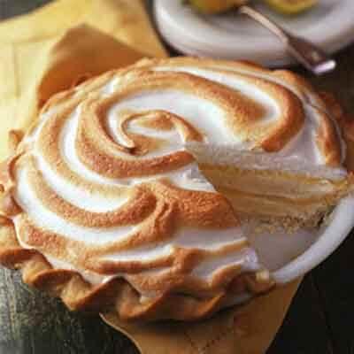Lemon Ribbon Ice Cream Pie Image