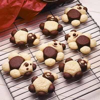 Teddy Bear Butter Cookies Recipe