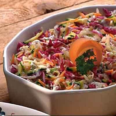 Shredded Vegetable Coleslaw Image