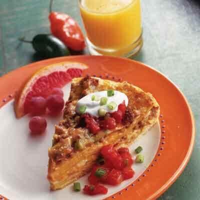 Layered Tortilla Bake Image