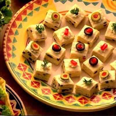 Festive Tortilla Squares Image