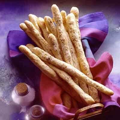 Onion Fennel Breadsticks Image