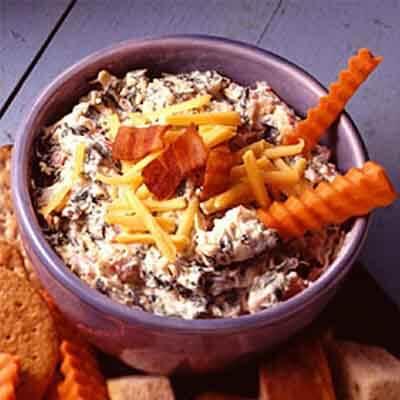 Cheddar & Bacon Spinach Dip Image