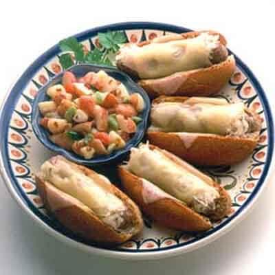 Bratwurst Cabbage Melts Image